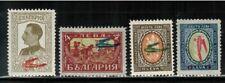 Bulgaria #C1-4 Complete Set 1927-28 MH