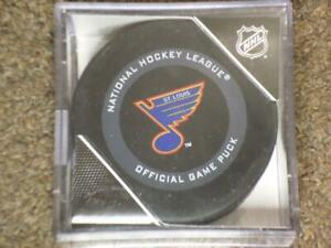 2019 - 2020 ST LOUIS BLUES 3rd Jersey Official Game Puck