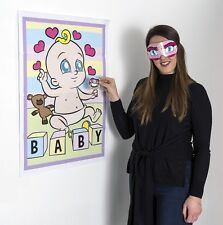 Pin le mannequin sur la baby shower party game boy fille unisexe 8 player