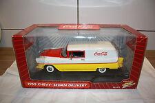 Coca-Cola 1955 Chevy  Sedan Delivery Johnny Lightning 1:18 2004 US Import