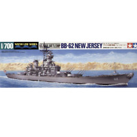 Tamiya 31614 U.S. Navy Battleship BB-62 New Jersey 1/700