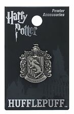 Harry Potter Hufflepuff School Crest Pewter Lapel Pin