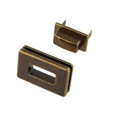 B8707 Antique Brass, Rectangle Magnetic Closure, Zinc