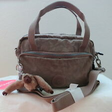 NWT KIPLING SCIPIO BAG WARM GREY