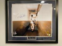 Steiner Derek Jeter Autographed 20 x 24 inch Photo Famous Tunnel DiMaggio Quote