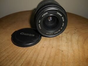 CANON ZOOM EF 1.4.5-5.6/38-76mm Lens(Canon EF mount)