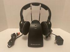 Sennheiser RS 135 Over the Ear Wireless Headphones - Black