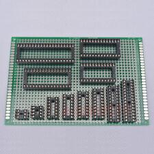 60pcs 12 Values 6/8/14/16/18/20/24/28/32/40 Pin 2.54 DIP IC Sockets DIY test 273