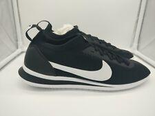 Nike Cortez Flyknit Reino Unido 5.5 Negro Blanco AA2029-001