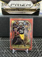 Anthony McFarland Jr. 2020 Prizm Football Red Cracked Ice Parallel RC Steelers
