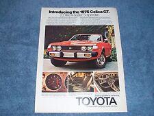 1975 Toyota Celica GT Vintage Ad
