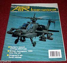 Air International 1990 August Beriev,Uruguay,BAe1000,Sea Venom