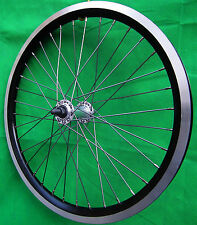 20 Zoll Laufrad Vorderrad Dynamic  NEU Hohlkammerfelge schwarz.