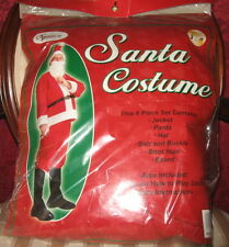 Santa Claus Costume New in Pack