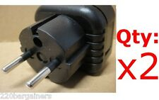 American to European Round Prong Plug Adapter Asian Europe 5mm Adaptor