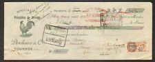 """TOURNUS (71) VOLAILLES de BRESSE / POULET CANARD PINTADE """"DESCHAUX & Cie"""" 1931"""