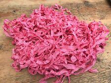 2 Metre of Aged American Seam Binding Ribbon Med. Rose Pink