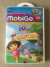 Vtech Mobigo Dora The Explorer Learning Game Cartridge~For Ages 3-5, NEW IN BOX!