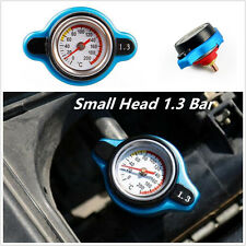 Car Small Head 1.3 Bar Safety Thermo Temp Gauge Engine Radiator Cap  Universal