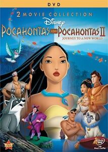 Pocahontas & Pocahontas II: Journey To A New World DVD Special Edition 2 Disc