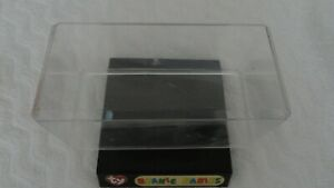 Clear Plastic Display Box .Perfect for TY Beanie Babies.