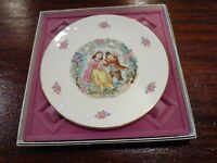 1979 Royal Doulton Bone China Valentine's Day Plate with original box England