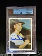1978 TCMA #11 BVG Authentic Roger Maris JSA Certified Autographed Yankees