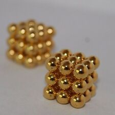 5mm 27 pieces Golden Neodymium Magnet Balls 3D Sphere Puzzle US STOCK 3 day ship