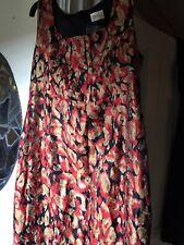 Stunning cocktail Dress Retro Roman Originals 1960s Madmen Joan rockabilly Sz14