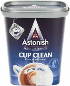 Astonish Cup Clean 350g Tea Coffee Stain Remover Mug Cleaner Premium Edition