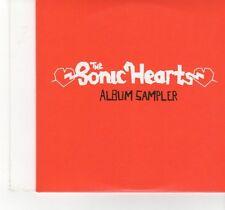 (FT1000) The Sonic Hearts, Album Sampler - 2008 DJ CD