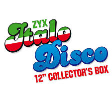 CD ITALO discoteca 12 inch COLLECTOR 'S BOX di Various Artists Italo 10cds