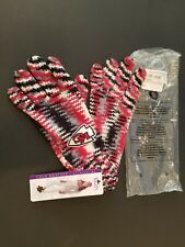 NFL KC KANSAS CITY CHIEFS GLOVES Touch by Alyssa Milano  Fashion Gloves WOMENS