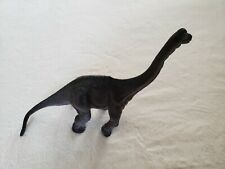 "Brachiosaurus Figure Dinosaur Hard Plastic 10.5"" Tall x 15"" Long Euc"