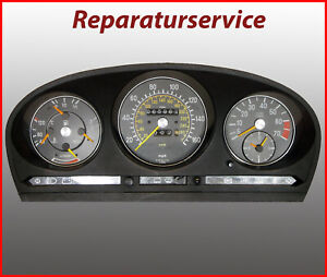 Mercedes R107 Tacho Kombiinstrument  Reparatur