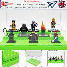 UK 25cm Minifigures Acrylic Display Box Case For Building Block Self-Assembly