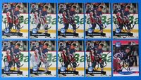 LOT OF 10 MARK JANSSENS SIGNED HOCKEY CARDS ~ PRO SET ~ 100% GUARANTEE