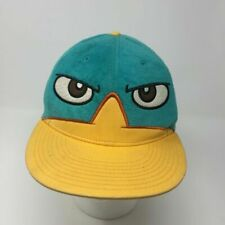Phineas and Ferb Wheres Perry the Platypus? Fleece Snapback Hat Adult Disney Cap