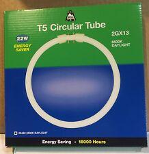 Bell T5 22w Circular Flourescent Tube 2GX13 6500k Daylight White 1750lm 16,000H