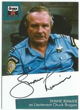 The Lost Worlds of Gerry Anderson Autograph Card SR1 Shane Rimmer, Chuck Brogan
