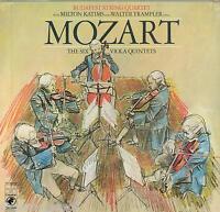 Mozart: Sechs Quintette Für Lila/Budapest String Qurtet, Katims, Trampler - LP