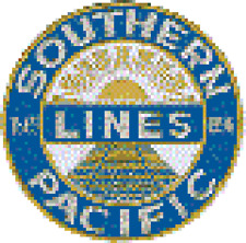 Southern Pacific Back Patch 30009 price is one patch only.