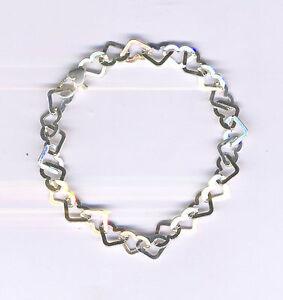 Chain of Hearts Bracelet