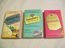 Lot of 3 Sophie Kinsella Shopaholic Paperback Books