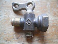 Vintage brass shut off valve Lafayette Brass MFG Co. old hardware