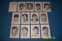 1969 CHICAGO WHITE SOX Team Lot of 13 Cards WILBER WOOD Bill MELTON Hoyt WILHELM