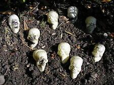 """9 Halloween Plástico Esqueleto Calaveras de 2"""" X 1.5"""""""