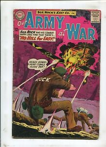 OUR ARMY AT WAR #130 - NO HILL FOR EASY! - (4.0) 1963