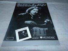 RORY GALLAGHER - EVIDENCE 2 !!!FRENCH VINTAGE PRESS ADVERT