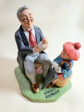 "1980 Norman Rockwell ""Doctor and The Doll"" Annual Figurine Collector's Club"